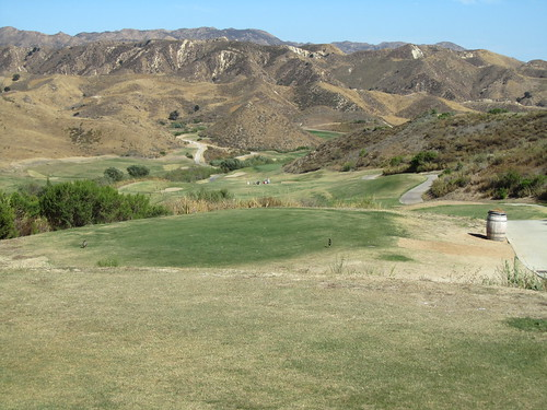 Scenic golf shot - Lost Canyons Golf