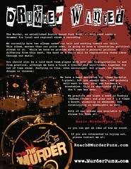 The Murder - 2010 - Drummer Wanted