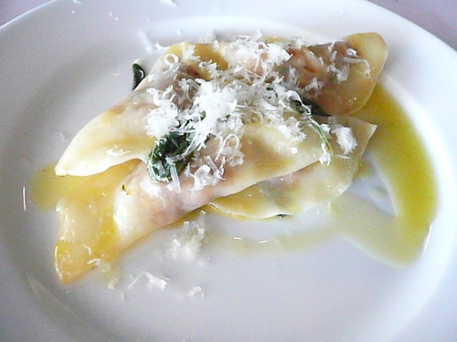 Pumpkin & Persian Feta Ravioli with Sage & Butter