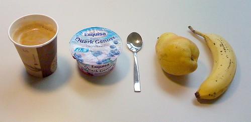 Quark Genuss, Birne & Banane