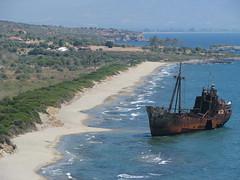 Shipwreck (stefg74) Tags: old sea beach ship free shipwreck lakonia freeuse  justrss justrsscom wwwjustrsscom httpwwwjustrsscom stefg74 wizzit:issue=4