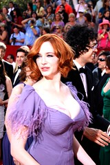 Christina Hendricks aka Joan Harris of AMC's 'Mad Men' (djtomdog) Tags: television losangeles tv amc madmen emmys nokialive christinahendricks tvjunkie thomasattilalewis joanharris thetvjunkie primetimeemmy