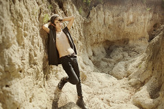 gypsied youth (rockie nolan) Tags: light summer nature fashion canon vintage outdoors photography golden natural nolan 28mm 5d caverns gypsy bohemian styling rockie