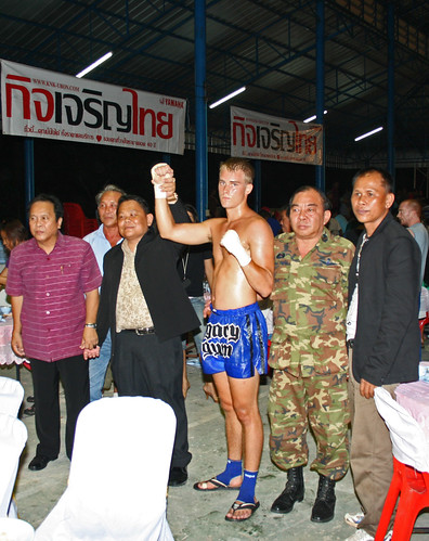 Phillip Muay Thai Fighter Legacy Gym Thailand