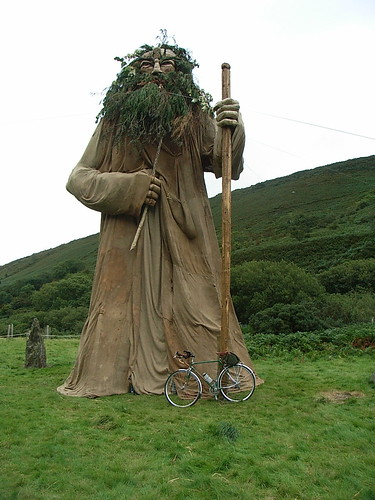 Manannan Mc Lir + bike