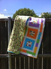 quiltforBright baby quilt - Quilt for Kidskids2back