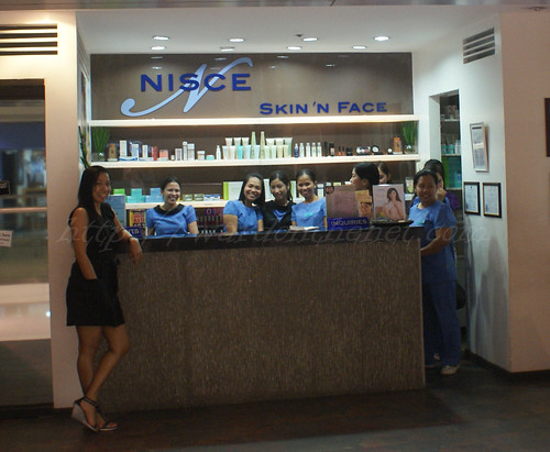 Relax at Nisce Skin 'n Face SM Megamall branch
