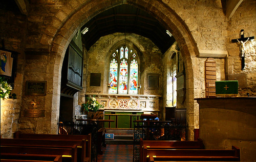 charlecombe church interior