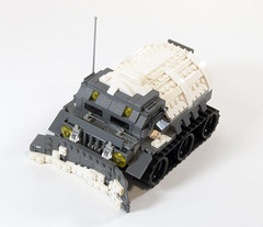 "Series-4 All Terrain ""Ox"" APC (Titolian) Tags: terrain back all lego military amd best ox story future vehicle series division apc antarctic faction brickarms"