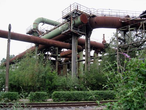 Landschaftspark Duisburg-Nord - Pipes
