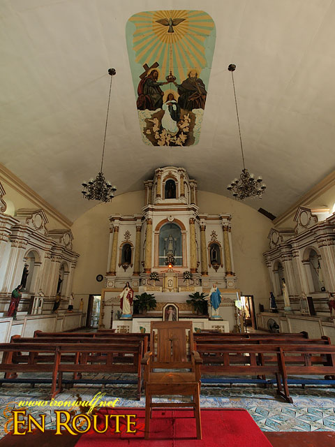 The Altar of the Sta Maria Church