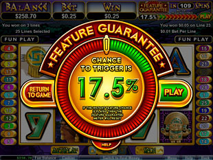 free Aztecs Treasure Feature Guarantee slot free spins