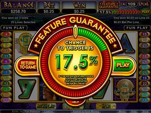 free Aztecs Treasure Feature Guarantee slot free spins