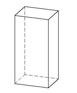 Prisma rectangular recto