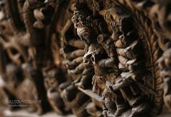 (TomJAllison) Tags: wood nepal arms goddess kathmandu tika woodcarving kumari kumarihouse