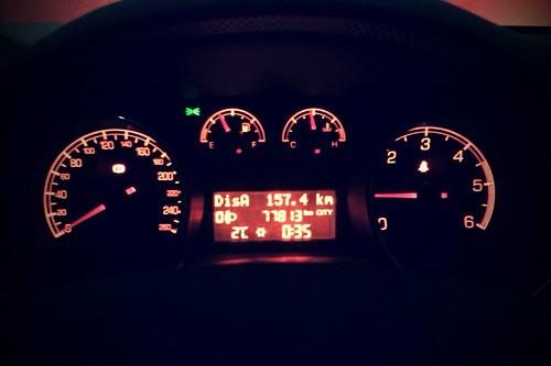 155/365 Llegando tarde a casa