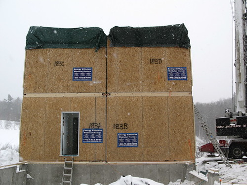 House on site