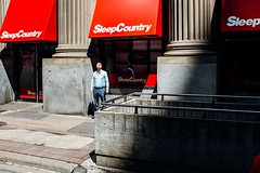 Sleep Country (Dominic Bugatto) Tags: kingsteast downtown financialdistrict toronto torontotopography streetphotography fujifilmx100s 2017
