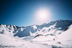 Tateyama. (鏡頭裡總有豐收) Tags: japan tateyama 立山 mountain snow landscape nature sky sunshine sony a7rii voigtlander 15mm ultrawide