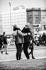 Reunion2 (Tres Monos Photography) Tags: reunion lustgarten berlin bw blackandwhite street