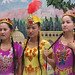 Uyghur dancers at karez wells