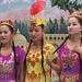 Uyghur dancers at karez wells