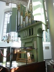 Wester Kerk, Amsterdam, second organ (Bill Cumming) Tags: church amsterdam organ westerkerk