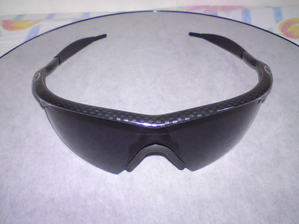 67dbec32eae Oakley Custom M Frame Strike grey lens with True Carbon Fiber frame  (imranbecks) Tags