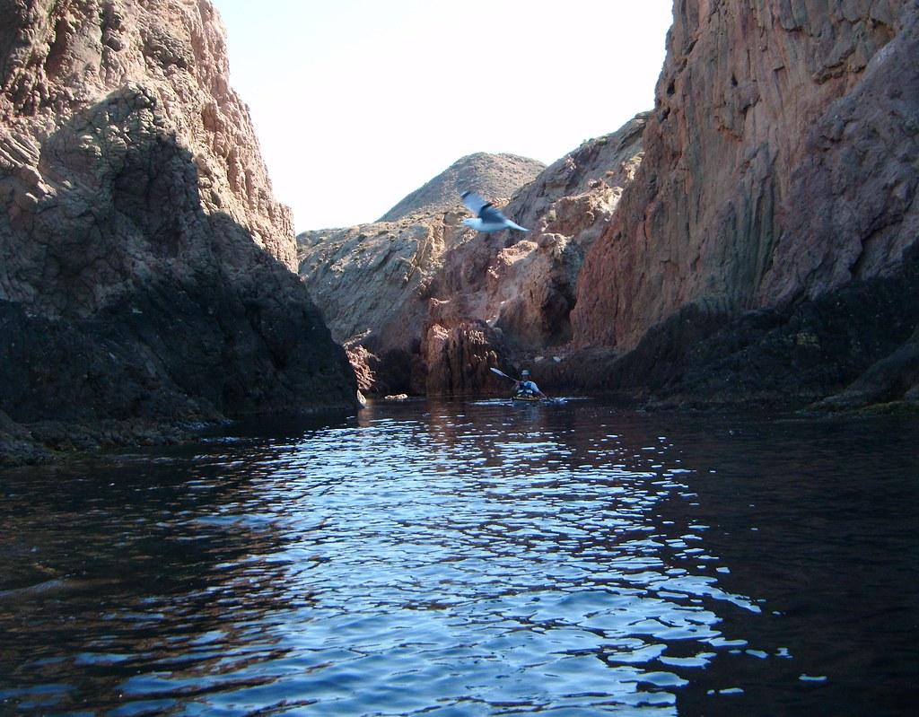 Cabo de Gata en kayak 767