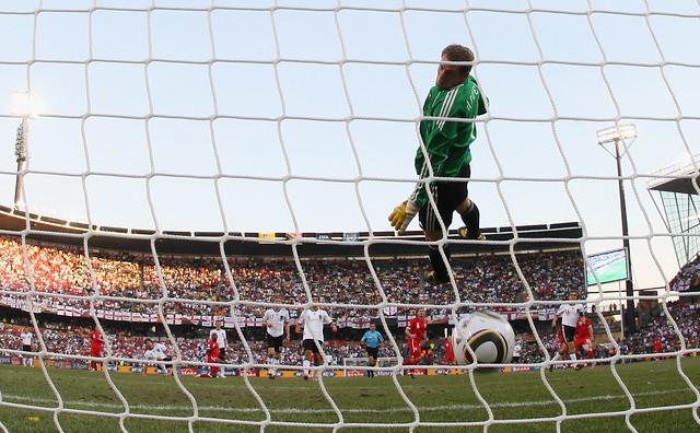 Frank Lampard Alemania Inglaterra Mundial