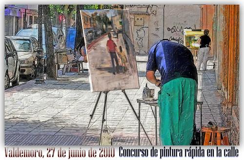 Pintura rápida en la calle