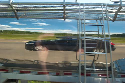 我和马自达在牛奶车中反映