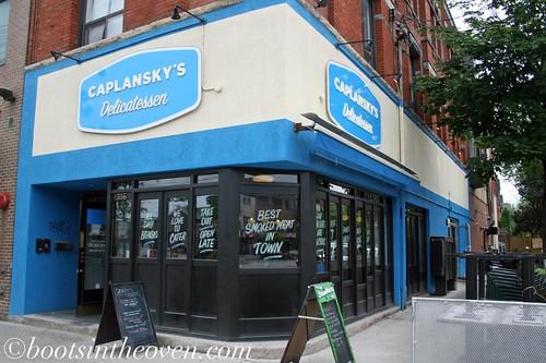 Caplansky's Exterior