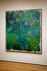 Water Lilies (elrina753) Tags: nyc newyorkcity usa newyork art unitedstates manhattan modernart paintings moma museumofmodernart midtown waterlilies monet impressionism claudemonet impressionists