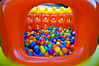 179/365 - Ball pit saturation (Micah Taylor) Tags: castle ball jump saturated backyard colours balls pit bounce manycolors project365