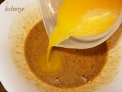 Cake de manzana-añadir mant.derretida