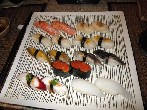 握壽司大拼盤