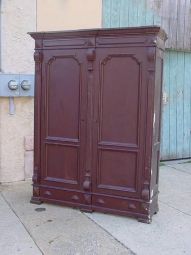 Giant 8-foot Eastlake armoir