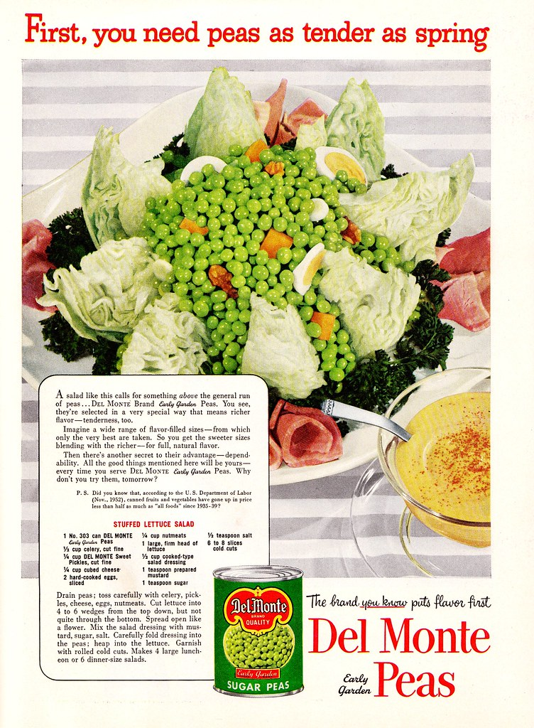 """First, You Need Peas . . . . """