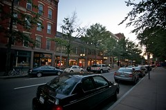 New Haven / Chapel Street at Dusk (CanWeBowlPlease) Tags: university yale 1022mm