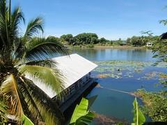 Vue de notre chambre au Tamarind