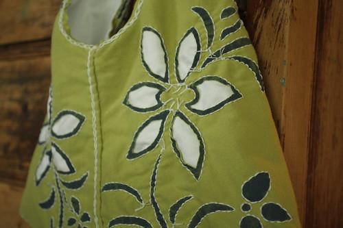 reverse applique & back stitch