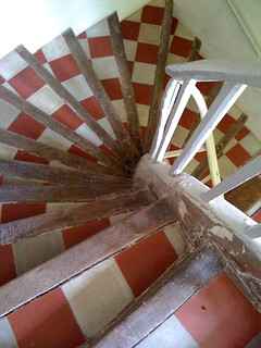 nice tiled stair