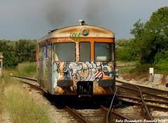 AD57 a Nard (LE) (Effimera59 - Donadelli Daniele) Tags: diesel fse lecce treni nard ad57