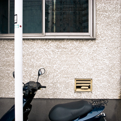 Pole Window Vent Scooter