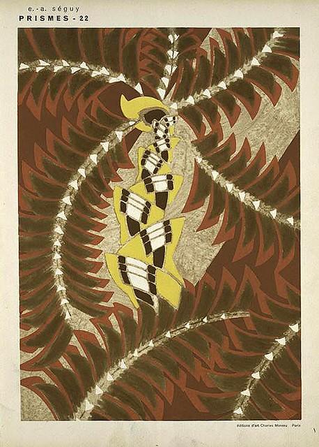 028-Prismes 40 planches de dessins et coloris nouveaux 1931- Eugene Alain Seguy