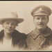 Augusta May Foster (nee Busby) & Norman George Busby, December 1917
