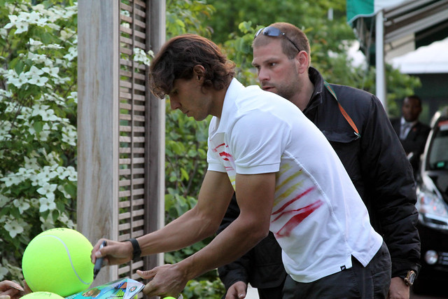 Nadal at the French Open