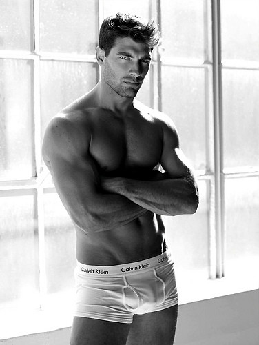 sexy hunk underwear photo hot manly male model