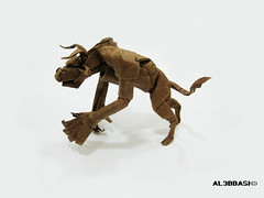 Minotaur (Al3bbasi.) Tags: origami fantasy minotaur mythical kamiyasatoshi al3bbasi